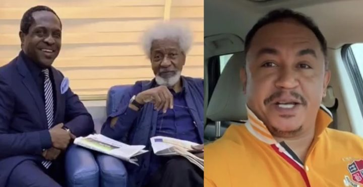 'I would have asked Soyinka to leave my seat as well' - Daddy Freeze