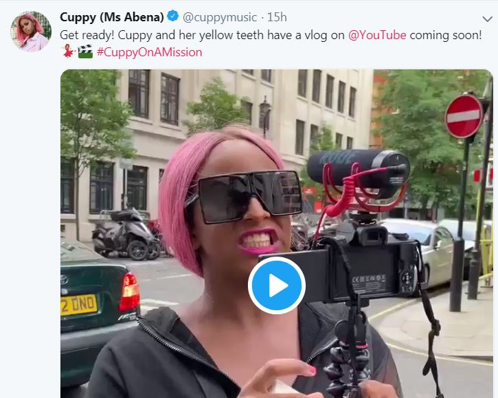 """9527955 cuppy jpeg1eeaa0b7e6dce1e87c255bbe41524293 - DJ Cuppy To Start Her Own Vlog, Tags It """"Cuppy And Her Yellow Teeth"""""""