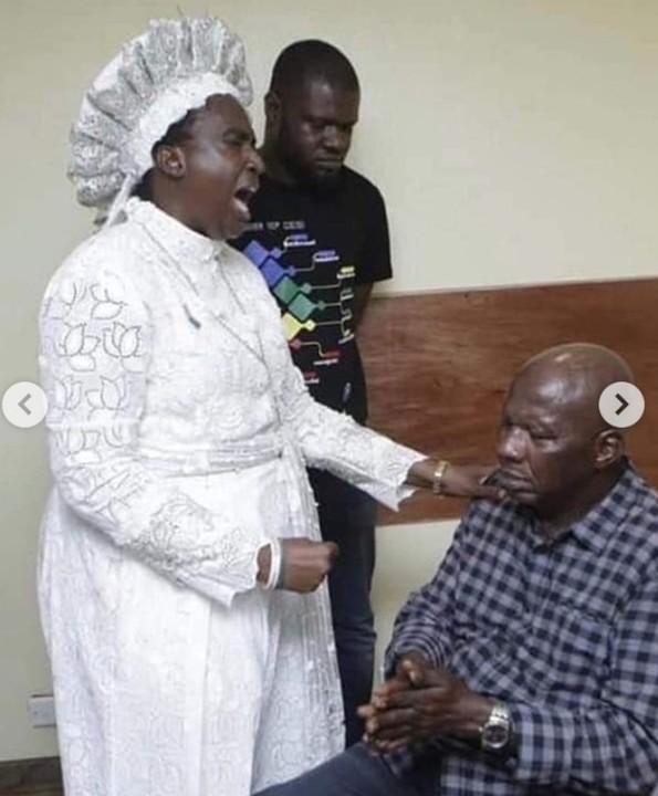 9536308 screenshot201906021350352 jpegec9faf5773f03ec993c6b38a4d471ade - Baba Suwe Visits Iyaadura Esther Who Gave Him N10 Million For Treatment [Photos]