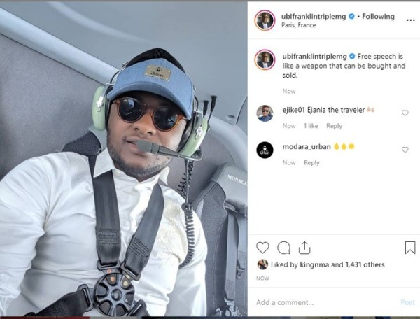 9537533 ubifranklinreplieshis4thbabymamaasshecallshimoutforgoingonvacationwithhermoneyunclesuru6 jpeg294e17e84424a0d14219a953006464aa - Ubi Franklin replies his 4th baby mama who called him out for going on vacation while still owing her