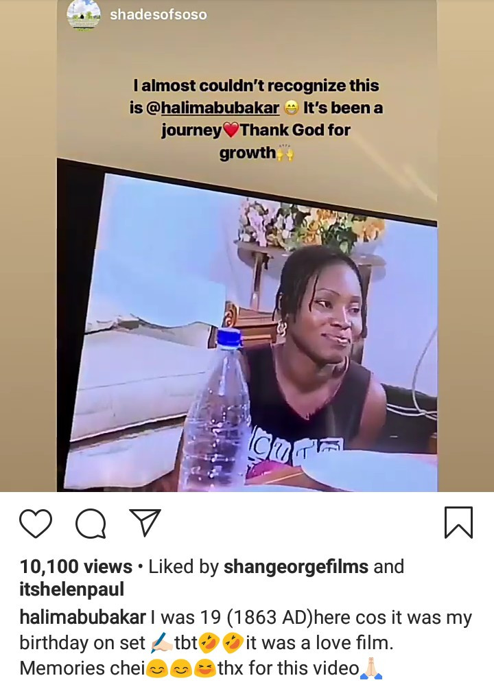 9566545 5cf8ec01c9017 jpeg9897ae07b2d4125a3e903bdf5ab970e8 - Halima Abubakar Gives Classy Replies To Followers Who Accused Her Of Bleaching