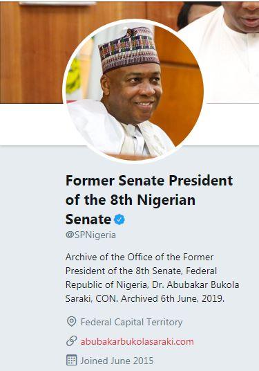 "9616456 bukola jpeg5d832eab81e002527f1964688a38089a - Bukola Saraki Changes His Twitter Name To ""Former Senate President"""