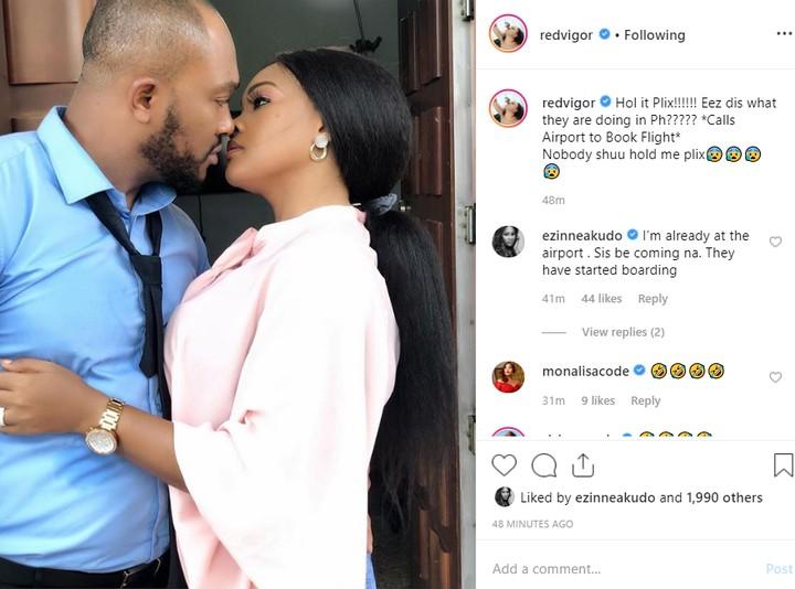 "9632131 bloddom jpeg7bdd57105dfe7618d9c05cacb2ed4916 - ""Calling My Lawyers"" – Blossom Chukwujekwu's Wife Reacts To Romantic Pic Of Husband On Set With Mercy Aigbe"