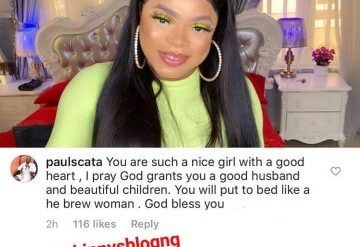 Fan Prays With All His Heart For Bobrisky To Put To Bed