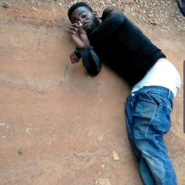 [Photos]: Ekiti State University 'Yahoo Yahoo' student runs mad