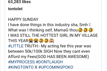 'Nollywood Cannot Afford Me Again' – Tonto Dikeh