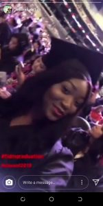 9707278 screenshot20190625184229 jpeg0f3da283513499614a6667b630b5c515 150x300 - [PHOTOS]: Omotola Jalade's Daughter, Meraiah Graduates From The Fashion Institute Of Design In Los Angeles