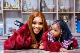 [Photos]: Nollywood actress Bukola Adeeyo celebrates her daughter Janell as she turns 2