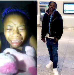 [VIDEO]: Lady Cries Out Again Claiming Naira Marley Forgot Her After His Release