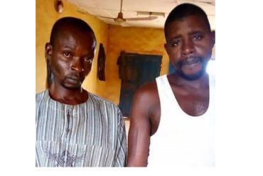 [Photo]: Police arrest men who raped a 23-year-old mentally deranged woman