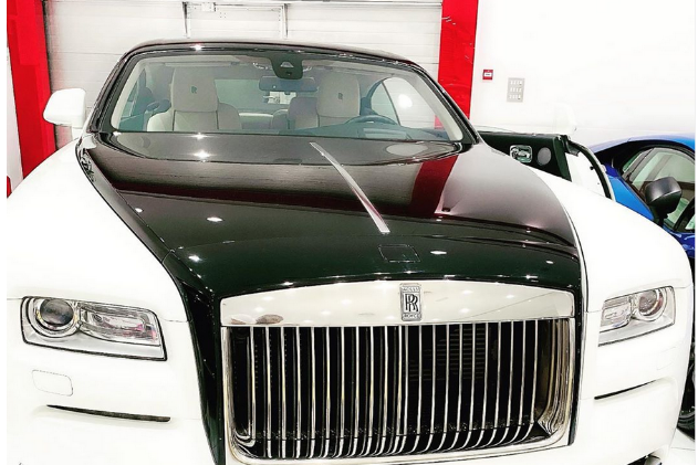 [Photo]: Dbanj acquires a brand new Rolls Royce for his birthday