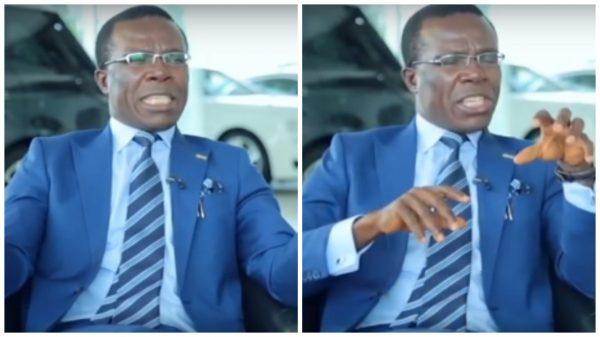 Video: Billionaire Owner of Coscharis Motors Spotted Evangelizing On The Street Of Lagos