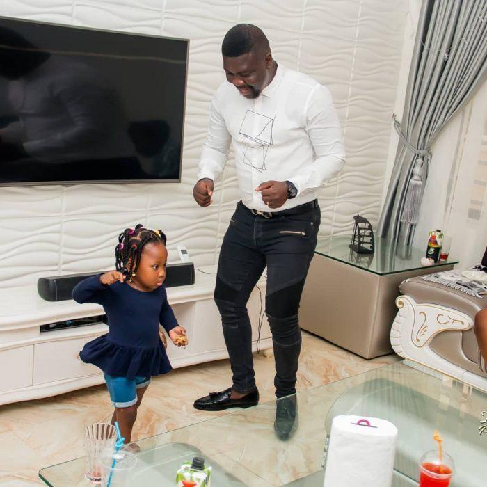 [Video]: Watch Seyi Law's daughter wishing him a happy birthday
