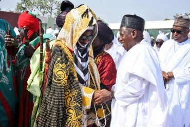 Emir Sanusi Sacks Palace Chief For Welcoming Ganduje