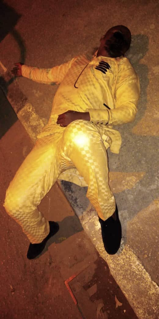 IMG 20190608 184206 - RRS rescues drunk nightclub goer who slept off along the road in Lagos