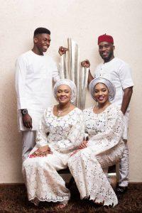 Jay Jay okocha and family 200x300 - Nigerian Football Legend, Jay Jay Okocha Shares Beautiful Photo Of His Daughter, Dani
