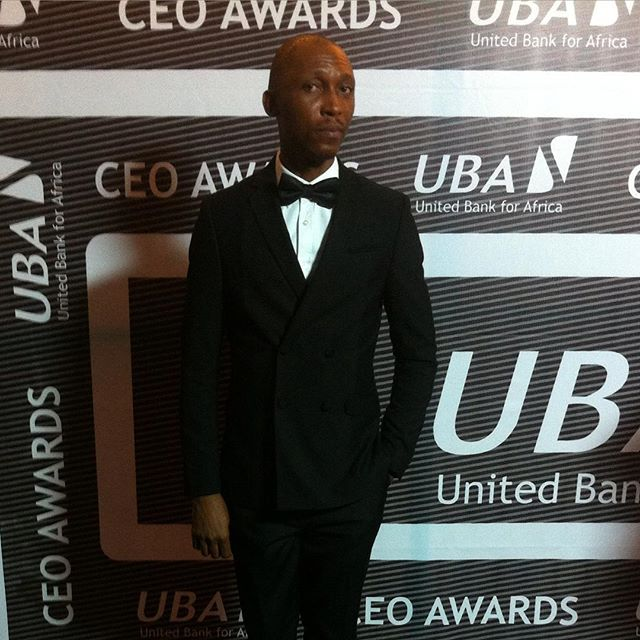 Kunle Idowu Frank Donga at UBA CEO Awards - Nigerian Comedian And Actor, Frank Donga Has Some Advice For Nigerian's Living Abroad