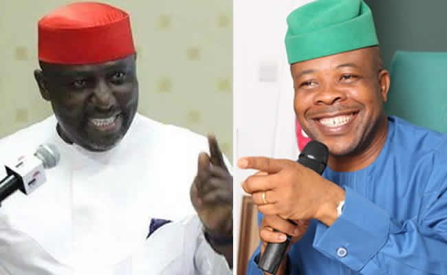'Stop with the blackmail, I have handed everything over to you' - Rochas Okorocha replies Governor Ihedioha