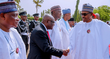 'Buhari reveals the reason he had to deal with CJN Walter Onnoghen