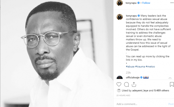 Pastor Tony Rapu reacts to rape allegation against Pastor Fatoyinbo unclesuru 1 600x370 - Pastor Tony Rapu Reacts To Rape Allegation Against Pastor Fatoyinbo