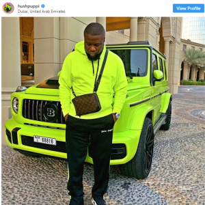 Screenshot 2 300x300 - Zlatan Ibile Replies Critics Who Blasted Him For Snapping With The Same Car As Hushpupi