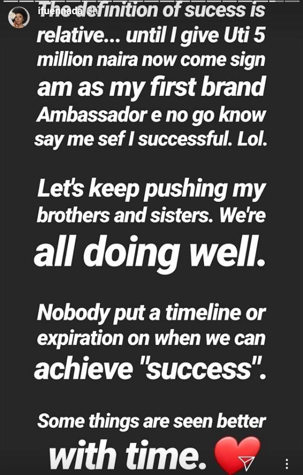 Screenshot 2019 06 20 112033 - 'Success Is Relative' – Ifu Ennada Berates Uti