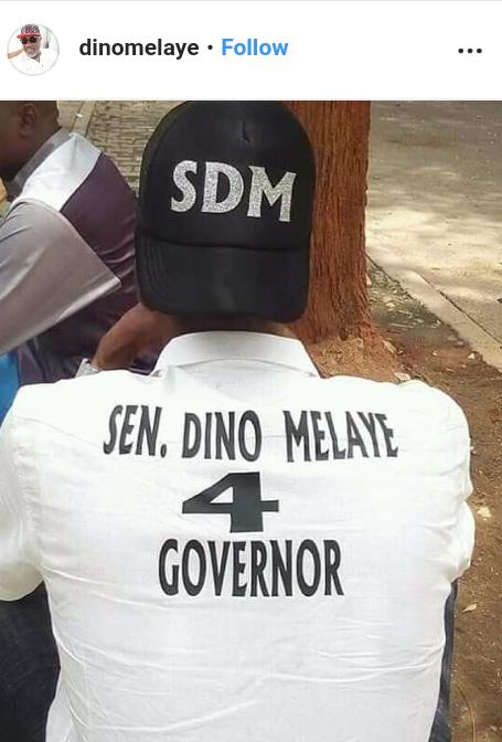 Screenshot 20190602 1222152 - Breaking: Dino Melaye Officially Enters Kogi Governorship Race