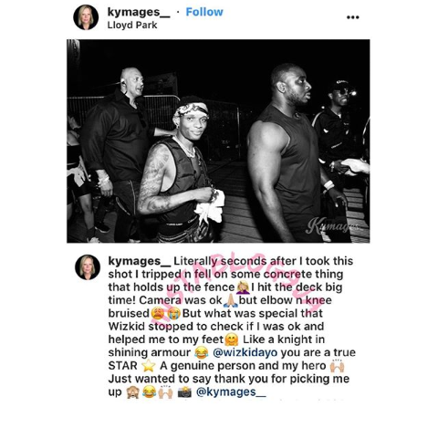 Screenshot 20190602 1705432 - Surprised British Photographer Hails Wizkid For His Compassion