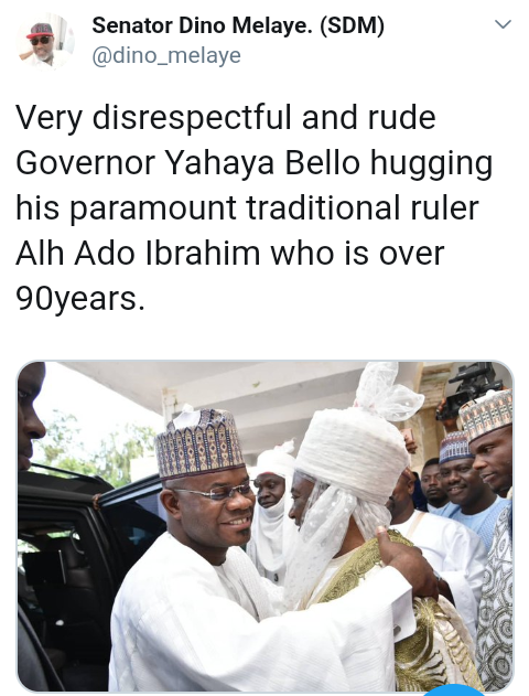 Screenshot 20190604 1945392 - 'Yahaya Bello Is Disrespectful And Rude' – Dino Melaye Fires
