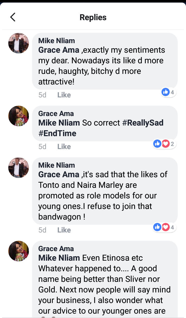 Screenshot 20190620 123817 2 - Movie Producer, Mike Nliam Dissociates Self From Brand After It Named Tonto Dikeh Ambassador