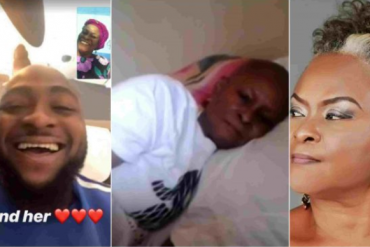 Davido Finally Finds Ify Onwemene, The Nollywood Actress Down With Cancer