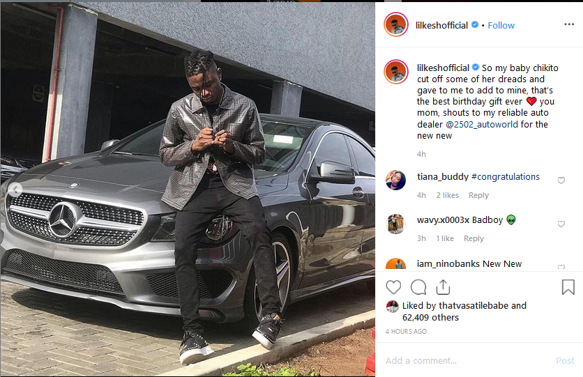 Screenshot 65 - [Photo]: Lil Kesh Acquires a New Benz worth N19.8million Naira