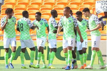 Just In: Super Eagles Of Nigeria Defeat Guinea, Set Record
