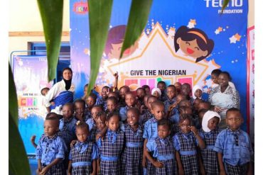 TECNO FOUNDATION GIVES OUT SCHOLARSHIPS IN CELEBRATION OF NIGERIAN CHILDREN