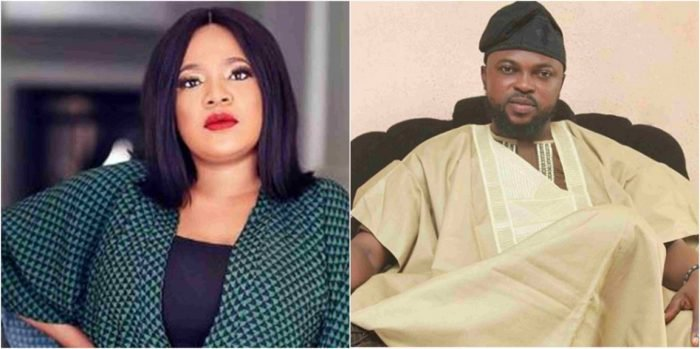 a 5 - 'If you don't want God to destroy you, stop mentioning my name' – Kola Ajeyemi speaks on his relationship with Toyin Aimakhu