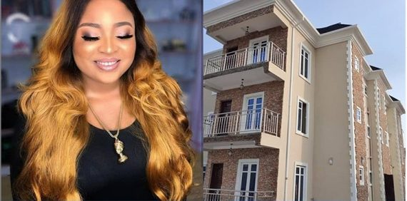 Actress Bimbo Afolayan Builds New House