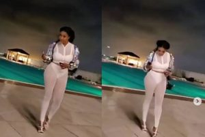 Nollywood Actress, Angela Okorie, Sets Social Media On Fire With Sexy Video