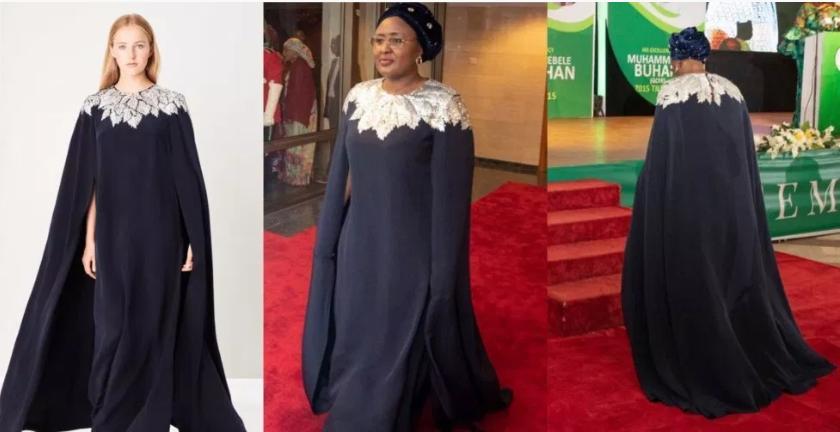 Aisha Buhari N772,200 dress to Democracy Day Dinner