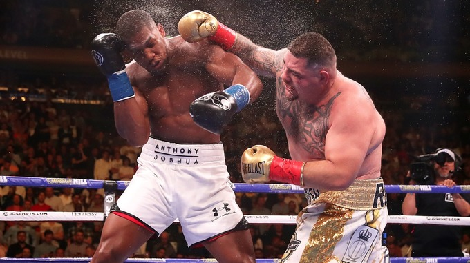 "anth - ""If They Want A Re-match Then They Would Need To Pay Me $50million"" – Andy Ruiz To Anthony Joshua"