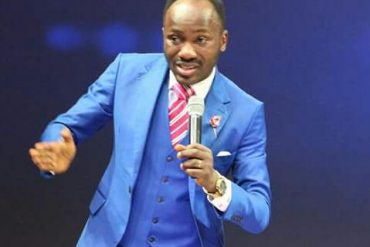 See Apostle Suleman's Response To Follower Who Begged Him For Money