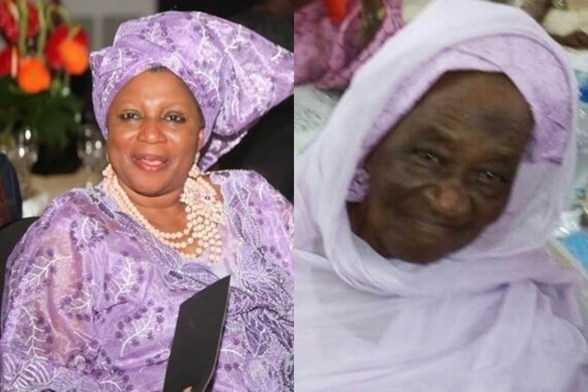 c - Veteran Nollywood actress Ayo Mogaji loses mother