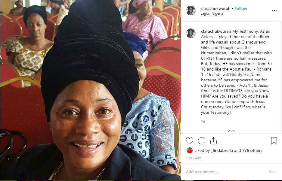 clarion - Mother of Popular Video Director and Nollywood Actress, Clarion Chukwurah Proclaims She is now Born Again