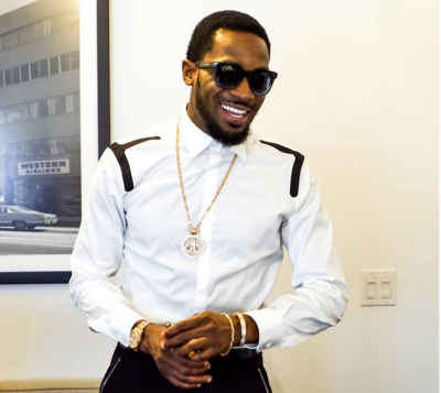 Dbanj Enjoys Stroll With His New Born Baby (Video)