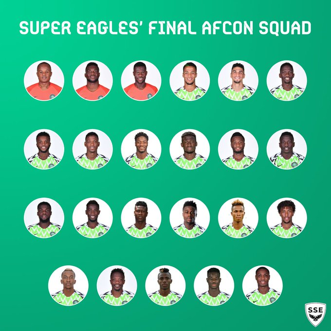 eagles - Just In: Super Eagles Coach, Gernot Rohr, Releases 23-Man List For AFCON 2019, Drops Iheanacho