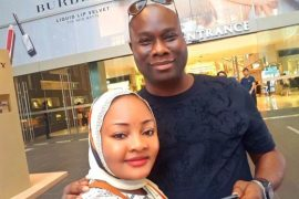 Popular Nigerian Big Boy, Mompha And Wife Celebrate 8th Wedding Anniversary