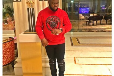 Dubai-based Nigerian big boy, Hushpuppi Flies A Private Jet After Missing Paris Flight For A Whopping N25.2 Million