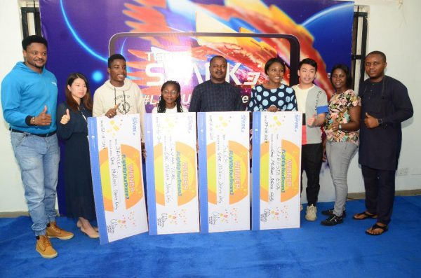 image8 600x397 - New Millionaires Emerge As TECNO Nigeria Holds Light Up Your Dream 3