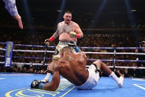 """jos 300x201 - Video: Moment our """"own"""" Anthony Joshua Was Beaten Like He Stole By Andy Ruiz"""