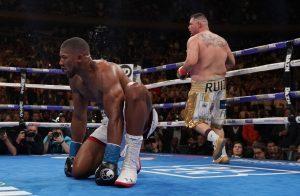 joshua down 1024x669 300x196 - 'Anthony Joshua Is Not A Good Boxer' – Andy Ruiz
