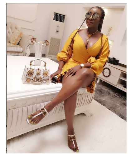 [Photos]: Ini Edo puts on a busty display as she sizzles in new photos